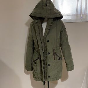 Abercrombie and Fitch lined outerwear size L EUC